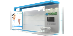 medical expo stands