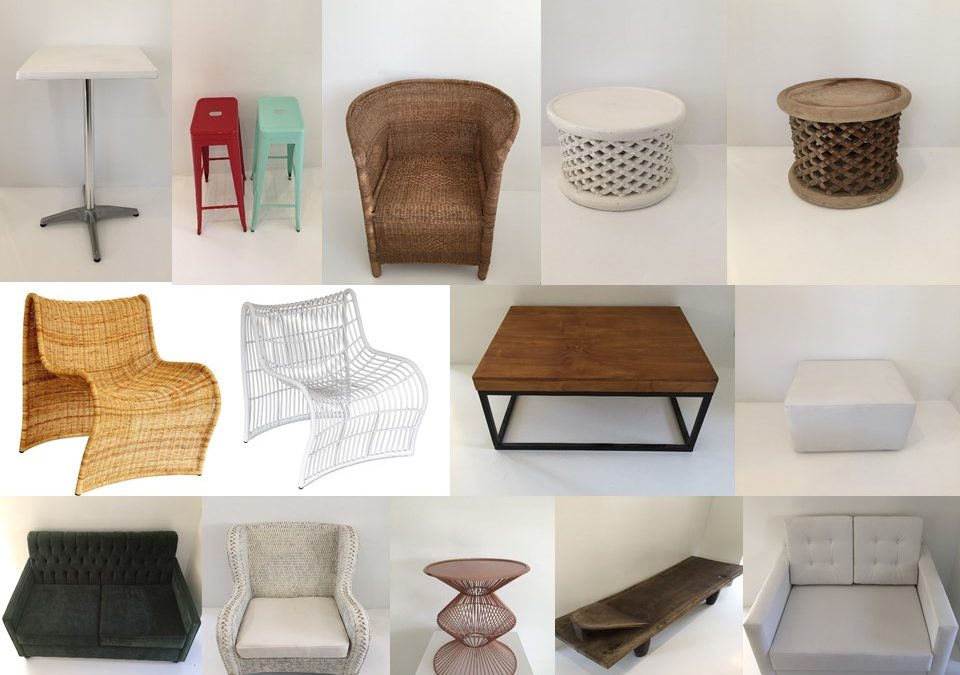 More Décor Items – Tables and chairs